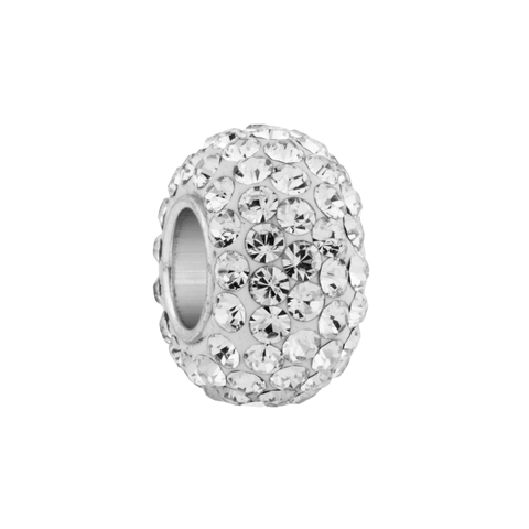 diamond crystal spacer in template