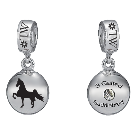 3 Gaited Saddlebred Charm